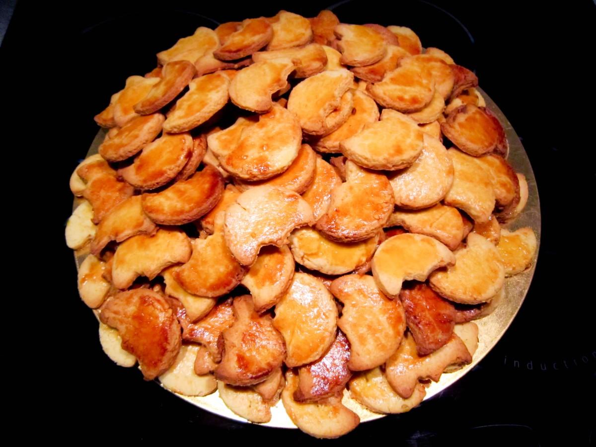 Petits gâteaux souabes ( Schwowebredele)