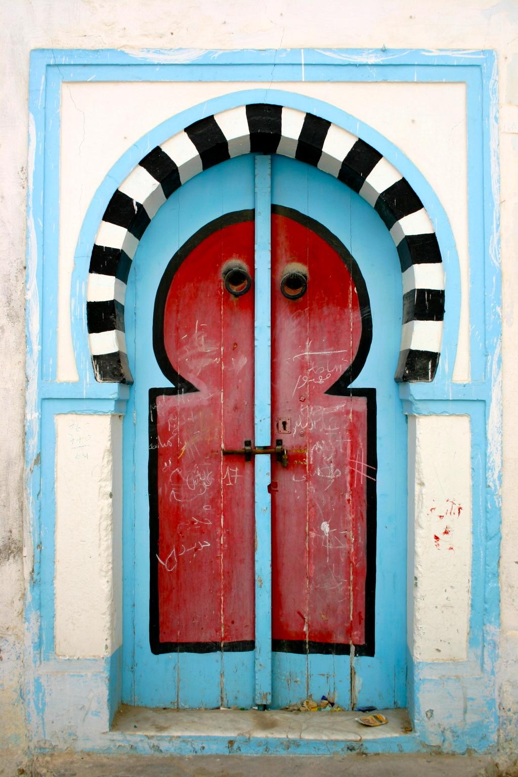 Porte tunisienne  leklektik
