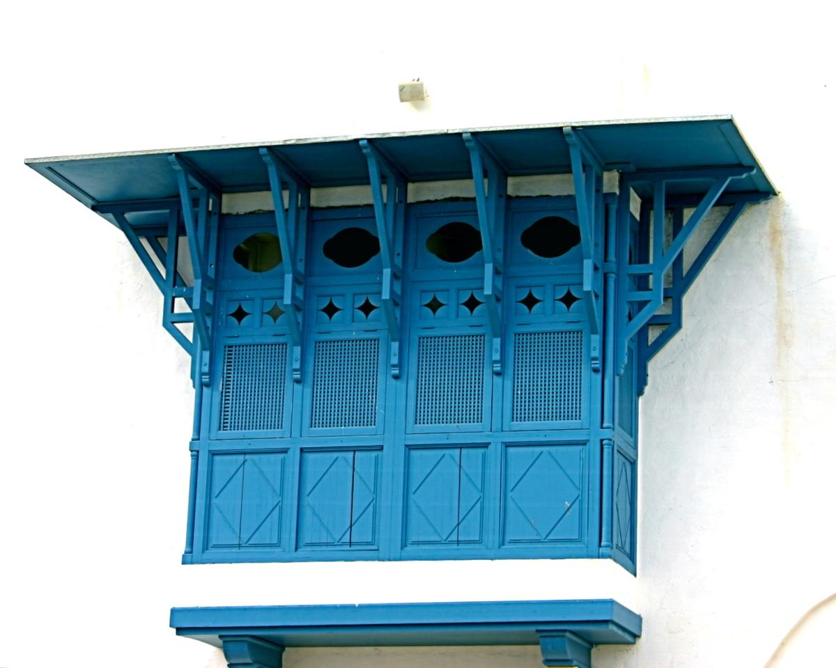 Les fenêtres tunisiennes