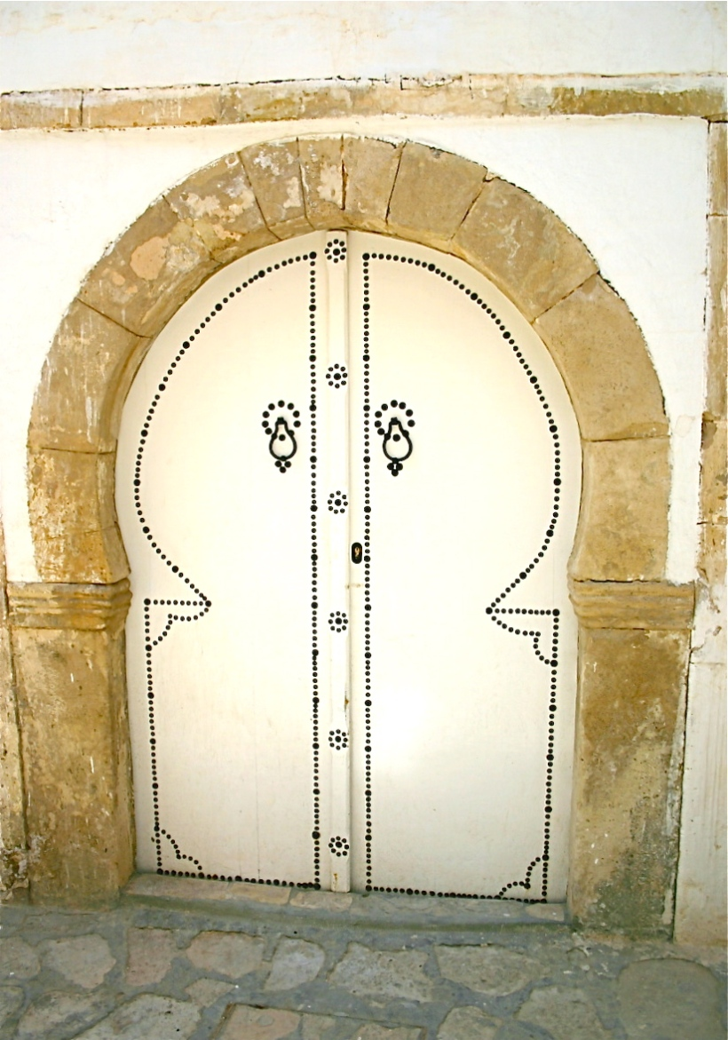 porte en Tunisie