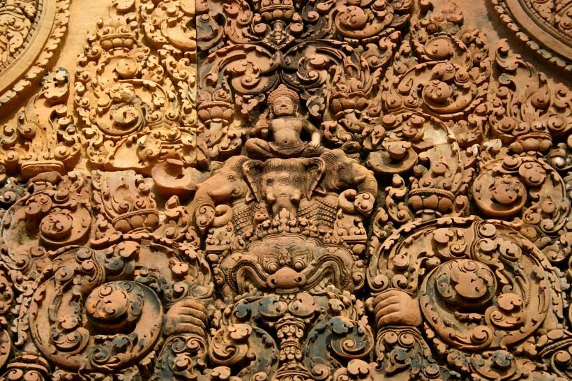 Temple de Banteay Srei Dentelle de pierres