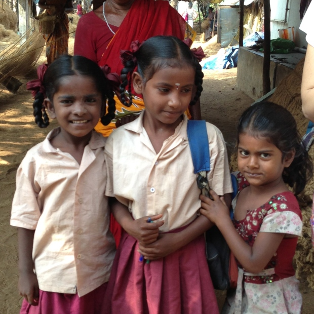 Écolières en uniforme