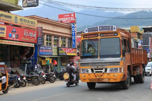 Un camion du Tamil Nadu