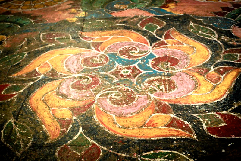 Dessiner Et Peindre En Inde Du Sol Au Plafond Leklektik
