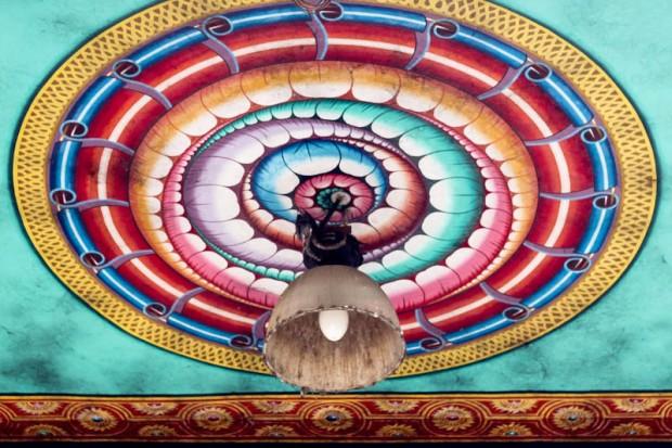 Eclairage au Sri manakula vinayagar temple