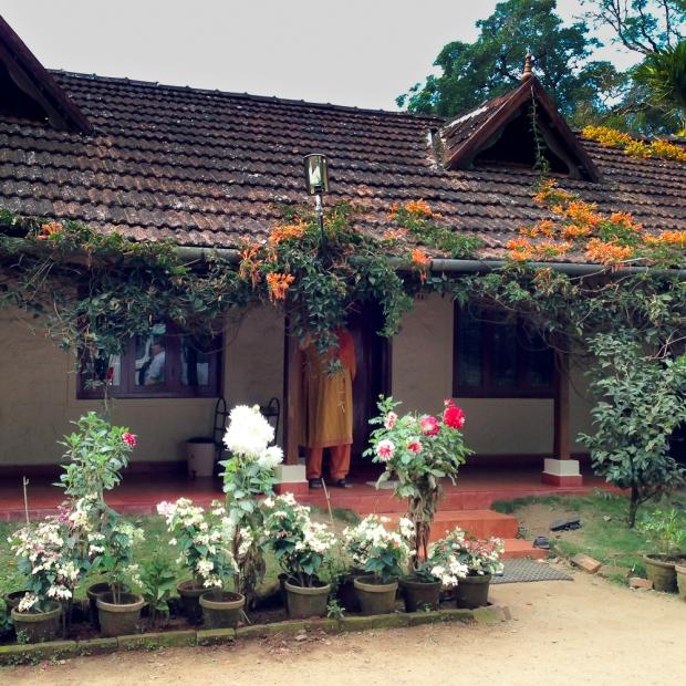Un homestay dans un jardin d'épices et de fleurs