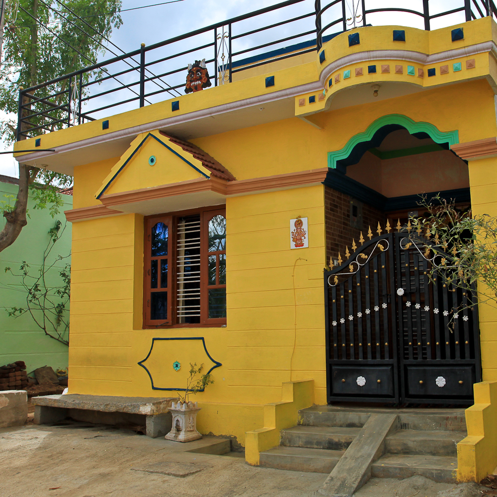 Les maisons en inde du sud leklektik for Une chambre en inde theatre du soleil