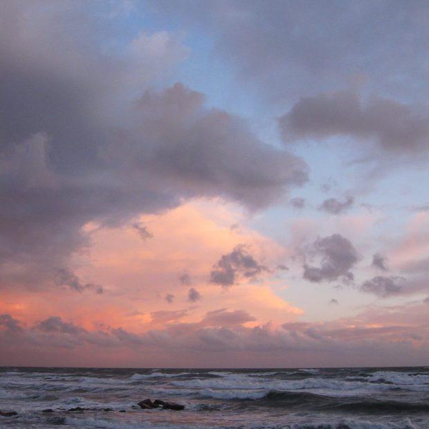 Le ciel jubile à Frontignan