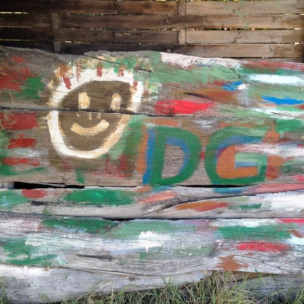 Graffitti aux Aresquiers