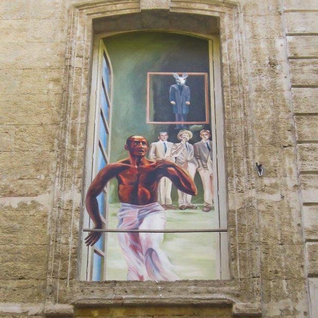 Trompe-l'oeil à Avignon