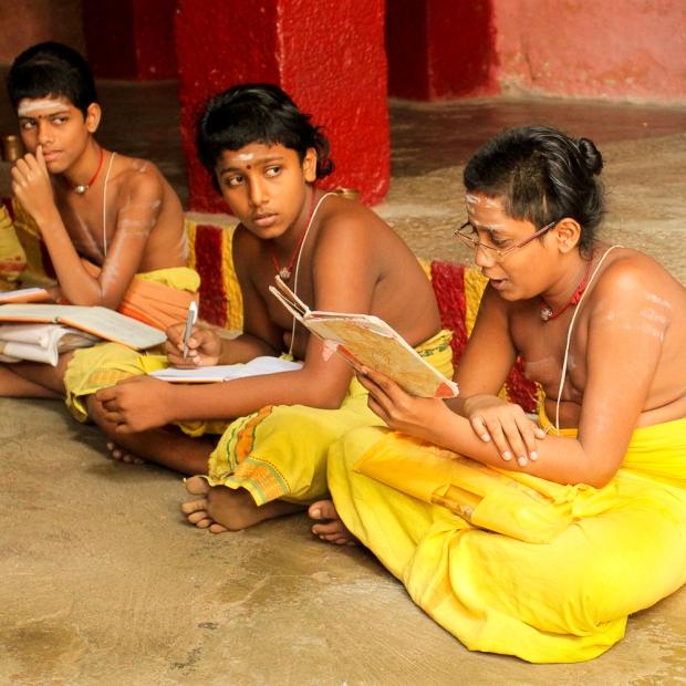 L'éducation des Brahmanes