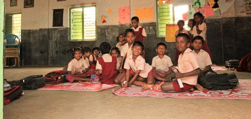 Ecole en Inde 1