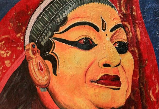 Peinture murale du théatre