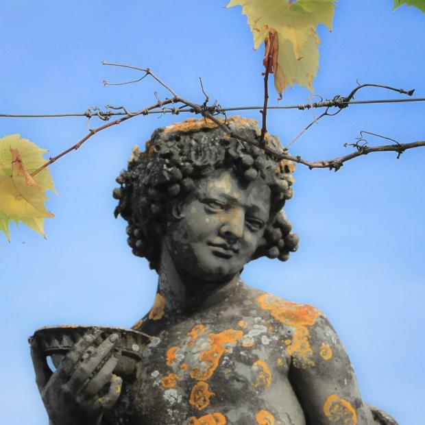 Statue à l'antique du jardin de la Berbie