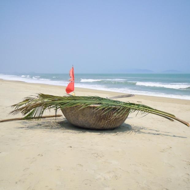 Bateau de pêche à HOI AN