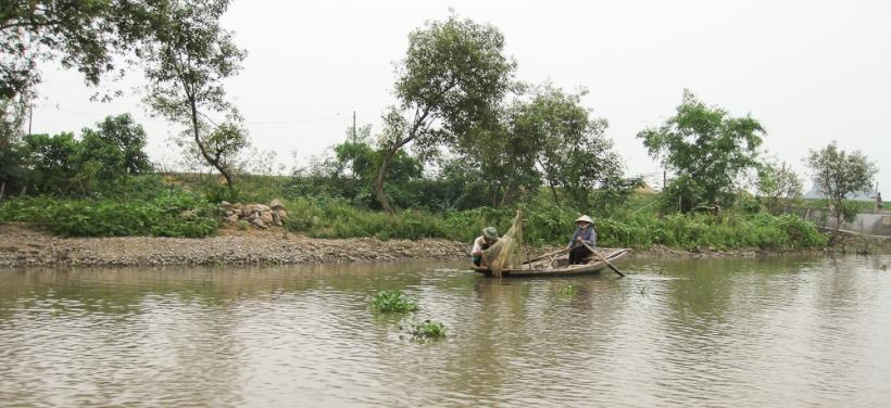 Canal aux Poulets Village flottant se Kenh Ga