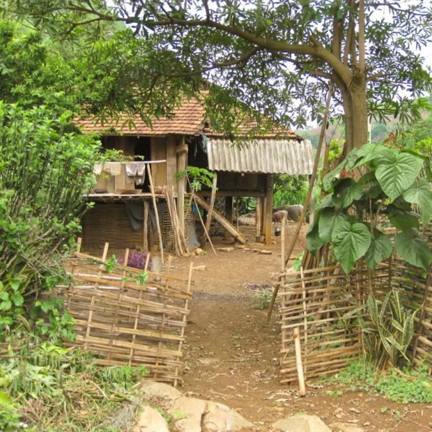 Xa Linh,village de H'Mongs Noirs