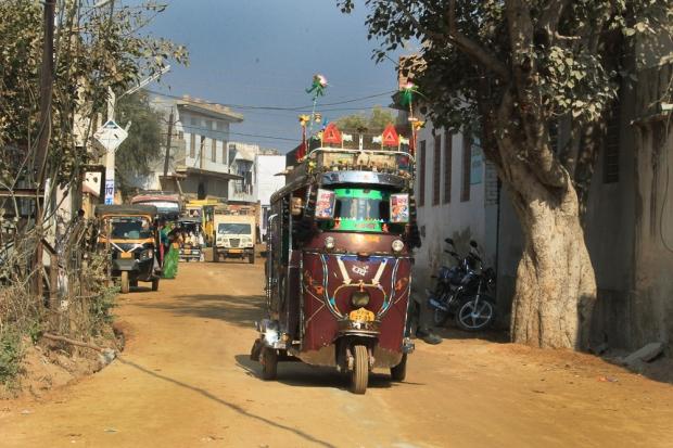 Entre Delhi et Mandawa Locomotion
