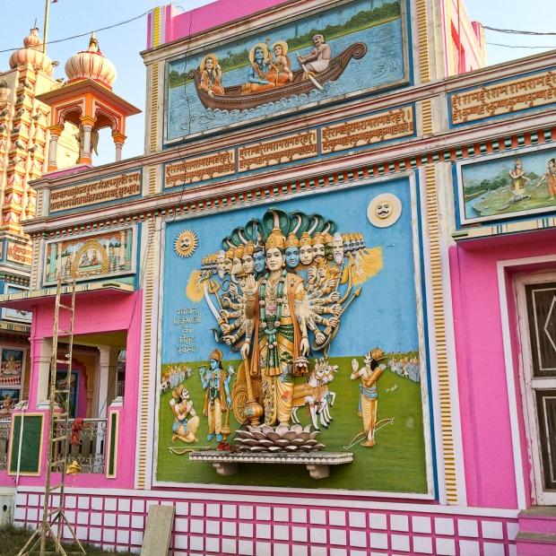 Facade du temple avec la représentation de Vishnu IMG_8739-1