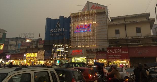 Marché, old Delhi
