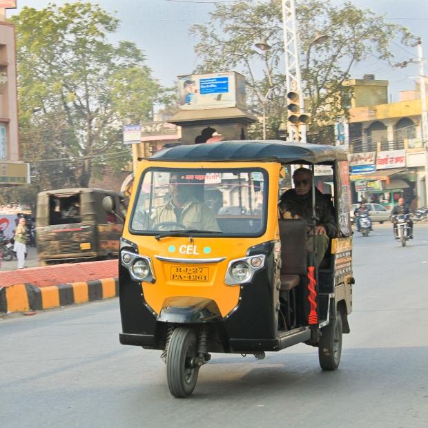 Auto rickshaw à Udaipur IMG_2703-1