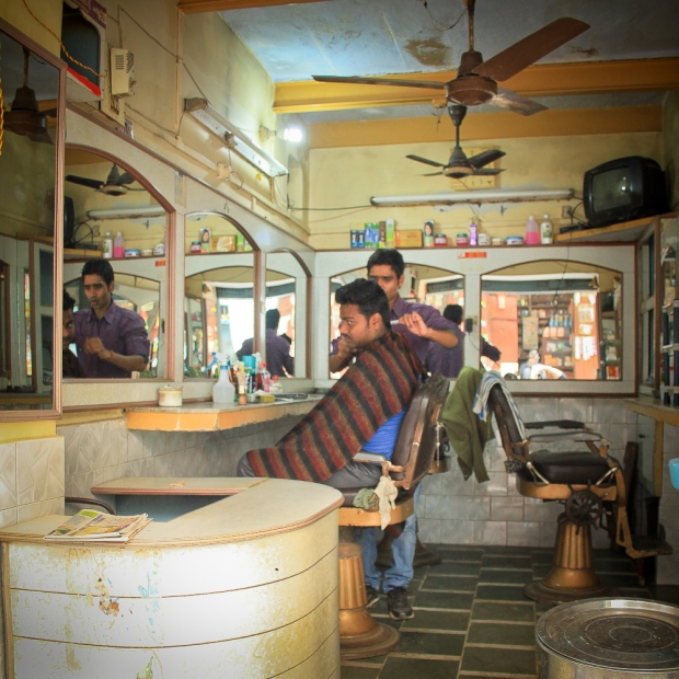 Barbier à  Benares