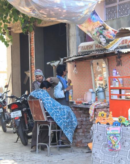 Barbier à  Pushkar