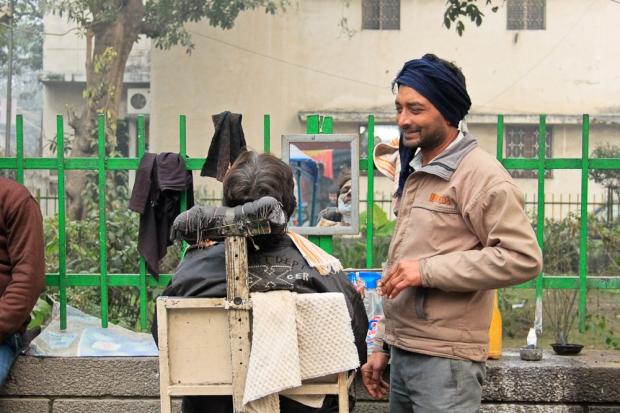 Barbier heureux à Delhi IMG_6278-1