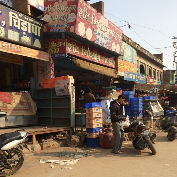 Motorbike in India  Chirawa IMG_8696-1
