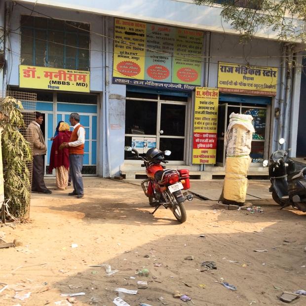 Motorbike in India  Chirawa IMG_8714-1