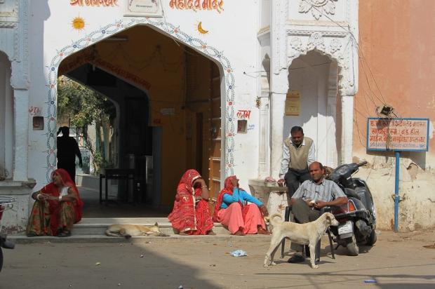 Le temps s'écoule à Pushkar