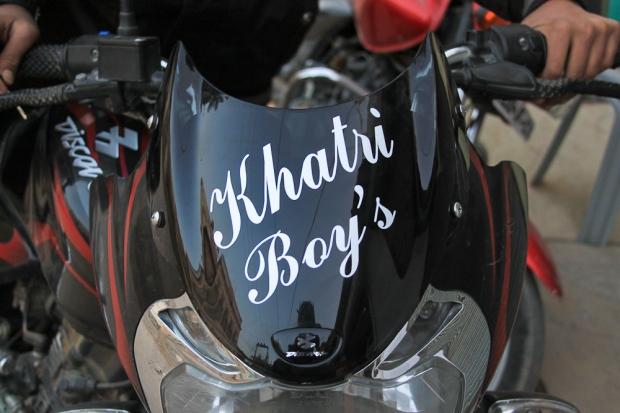 Motorbike in India  -1 khatri Boys