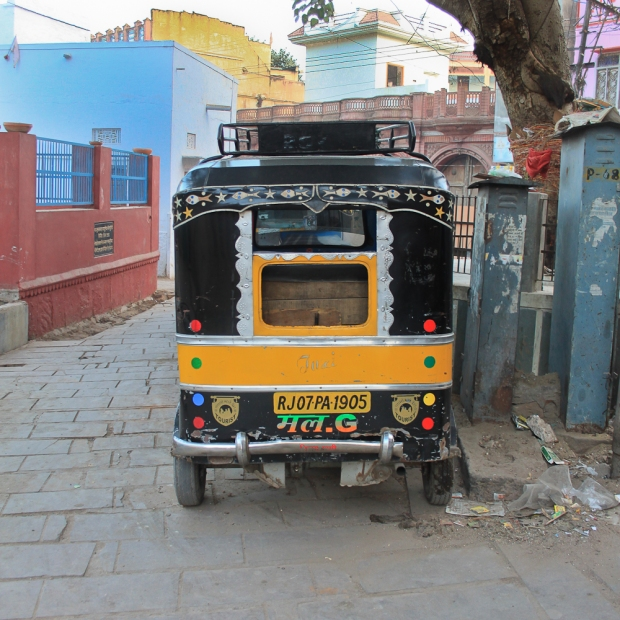 Rickshaw in India IMG_0625-1
