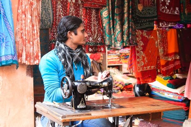 Couturier à Jaïpur