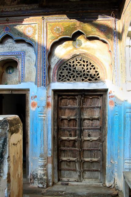 Mandawa porte de Haveli  IMG_9745-1-1