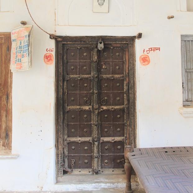 Mandawa porte de Haveli  IMG_9754-1-1