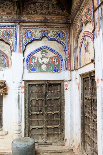 Mandawa porte de Haveli  IMG_9760-1-1