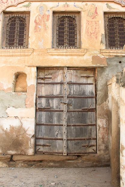 Mandawa porte de Haveli  IMG_9881-1-1