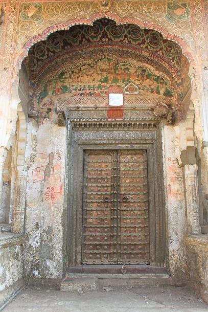 Mandawa porte de Haveli  IMG_9883-1-1