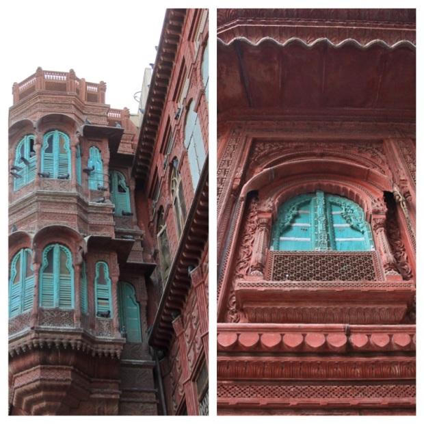 Bikaner et la structure architecturale imposante de ses havelis.