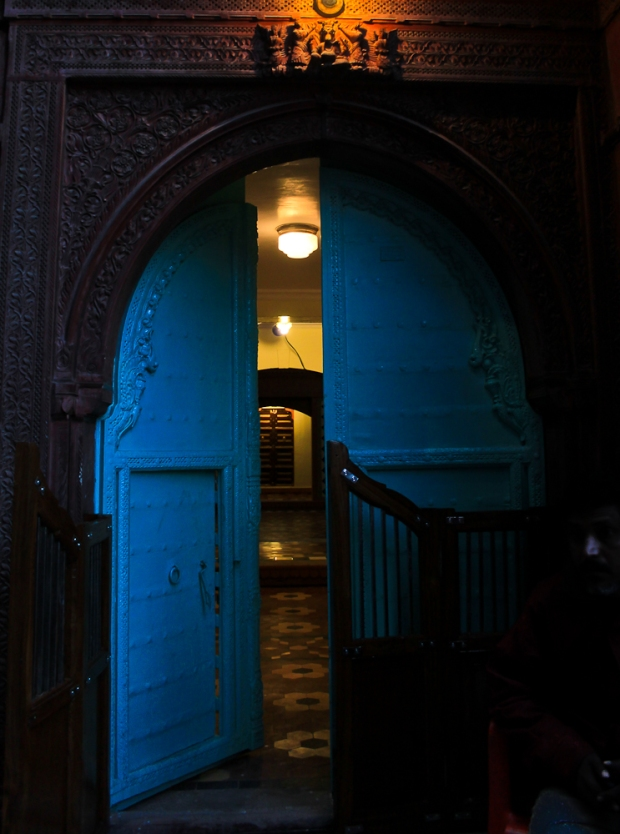 Bikaner blue door