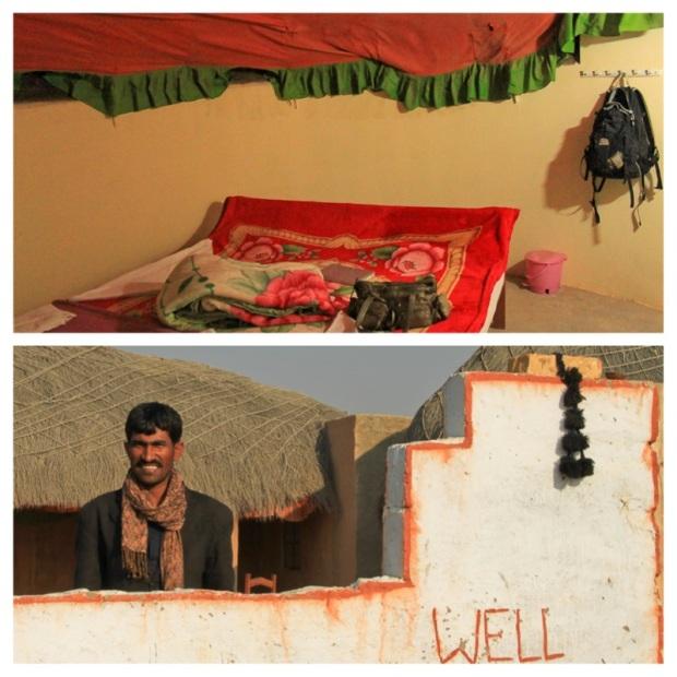 Campement Khuri 3.La chambre dans le campement