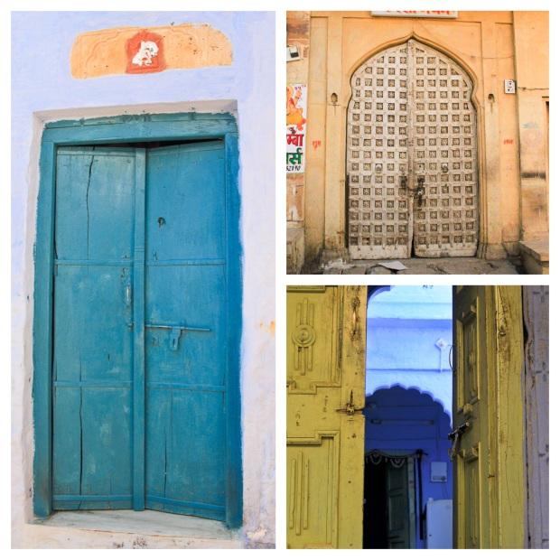 doors in Jaisalmer