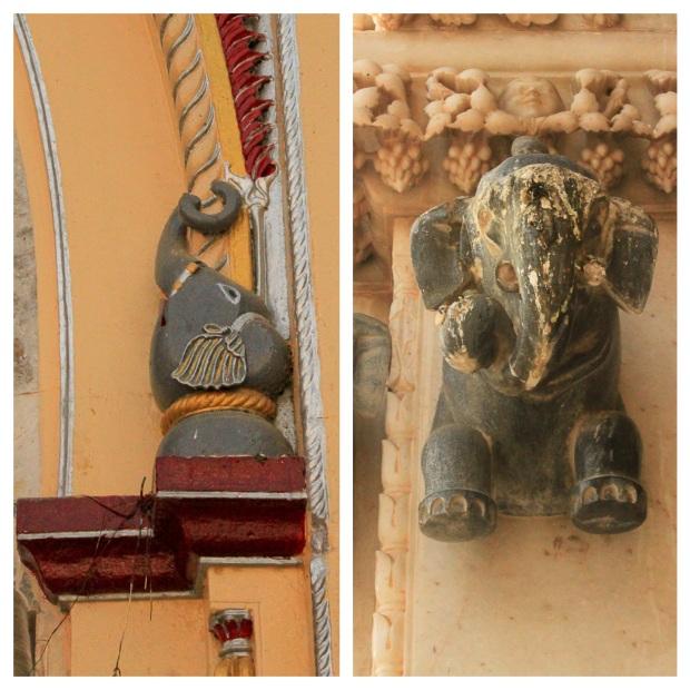 """Elephant au """"rat temple"""""""