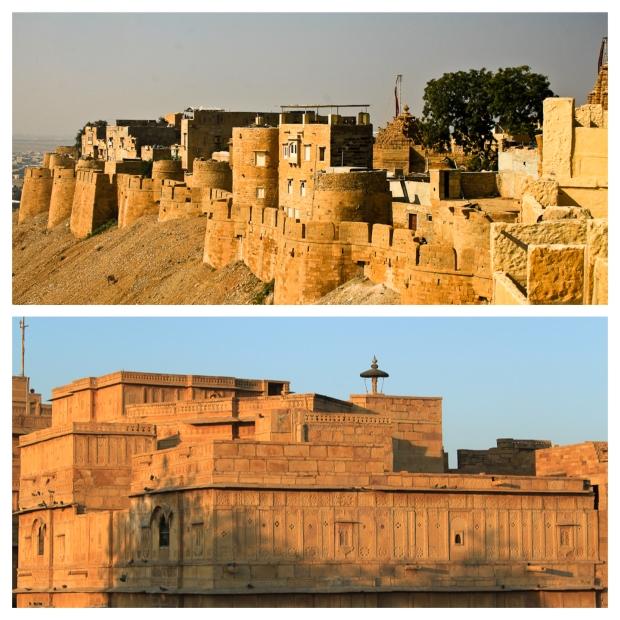 Fort de Jaisalmer aux différentes heures du jour