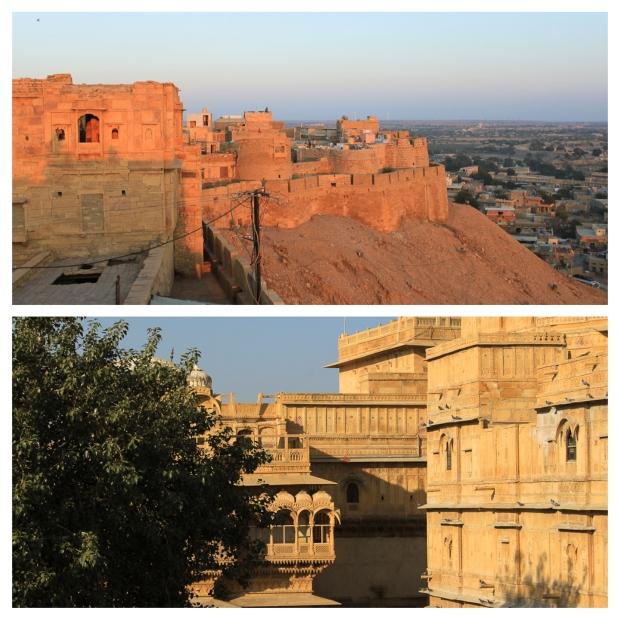 Fort de Jaisalmer aux différentes heures du jour 2