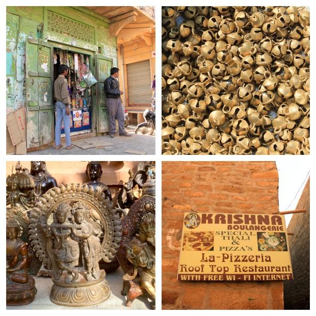 Jaisalmer échoppes