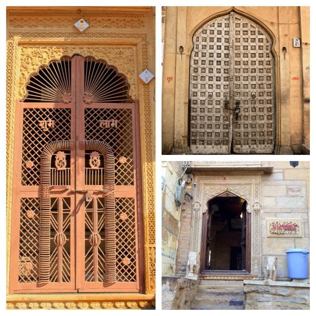 Jaisalmer doors