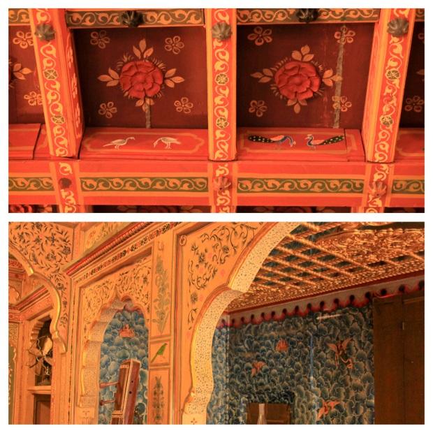 Plafond de la Patwa Haveli 2