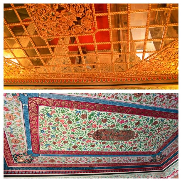Plafond de la Patwa Haveli